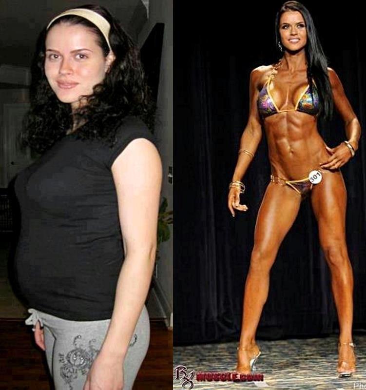 Похудеть и накачаться девушками