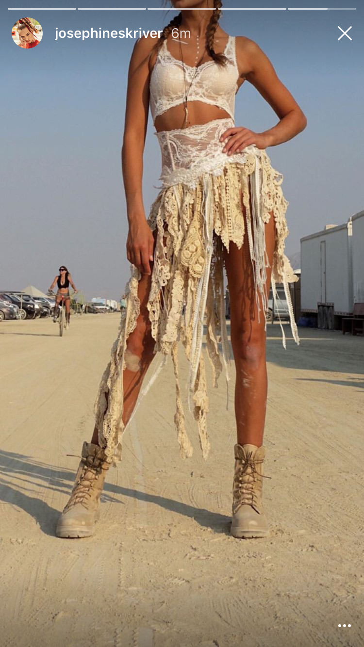 Pin By Sandra Kaiden On Boho In 2019  Burning Man Outfits -1323