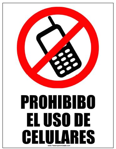 Las Personas Exitosas Nunca Llevan Su Celular A Las Reuniones Prohibido Celular Senal De Prohibido Senalamientos De Seguridad