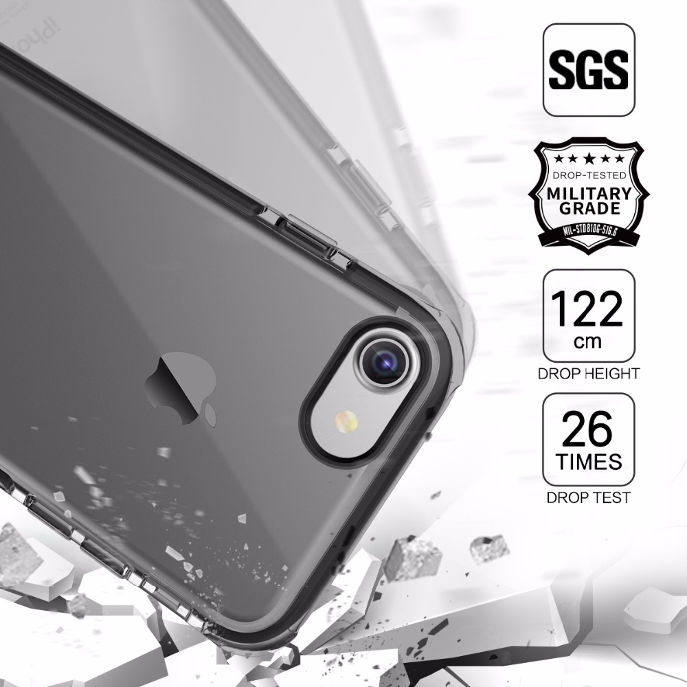 999 Watch Here Rock Drop Protection Phone Case For Iphone 7 Flash Light Tube Bumper Original 6 6s 7plus Guard Series
