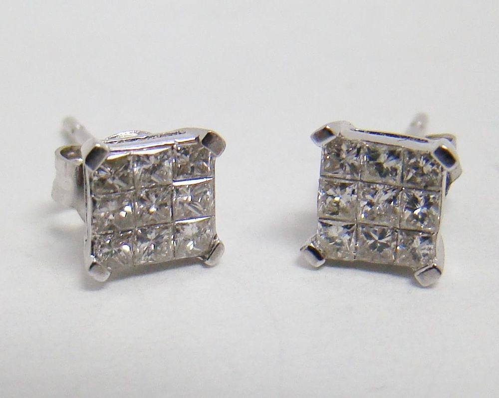 cart in platinum add earrings stud earring nl round to these sku invisible wg with jewelry diamond studs set