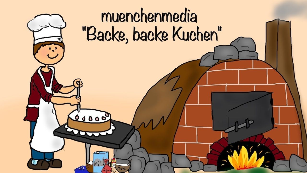 Backe Backe Kuchen Kinderlieder Deutsch Backe Backe Kuchen Kinderlieder