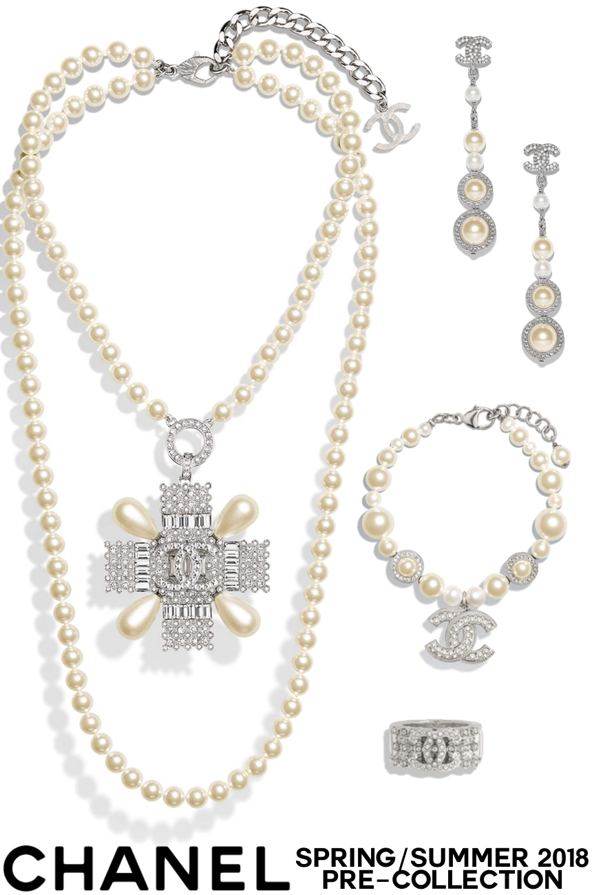 Chanel Spring Summer 2018 Pre Collection Of Costume Jewelry