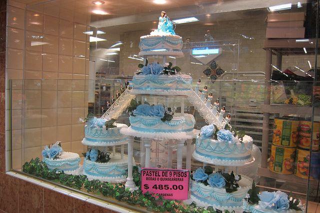 Cardenas Market Quinceanera Cake By Guzzle Amp Nosh Via