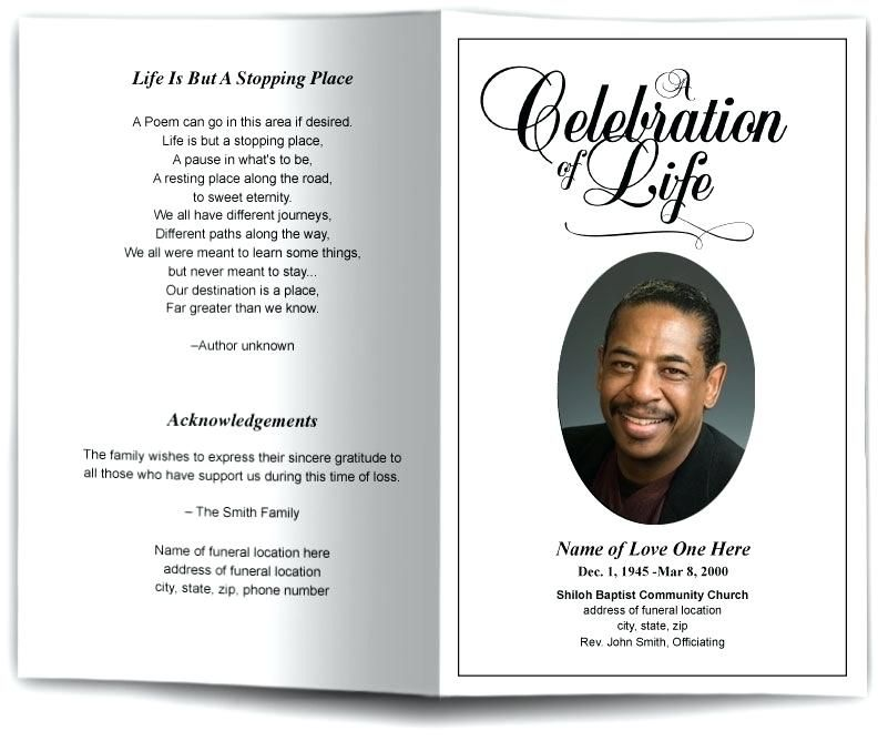 Free Celebration Of Life Flyer Templates