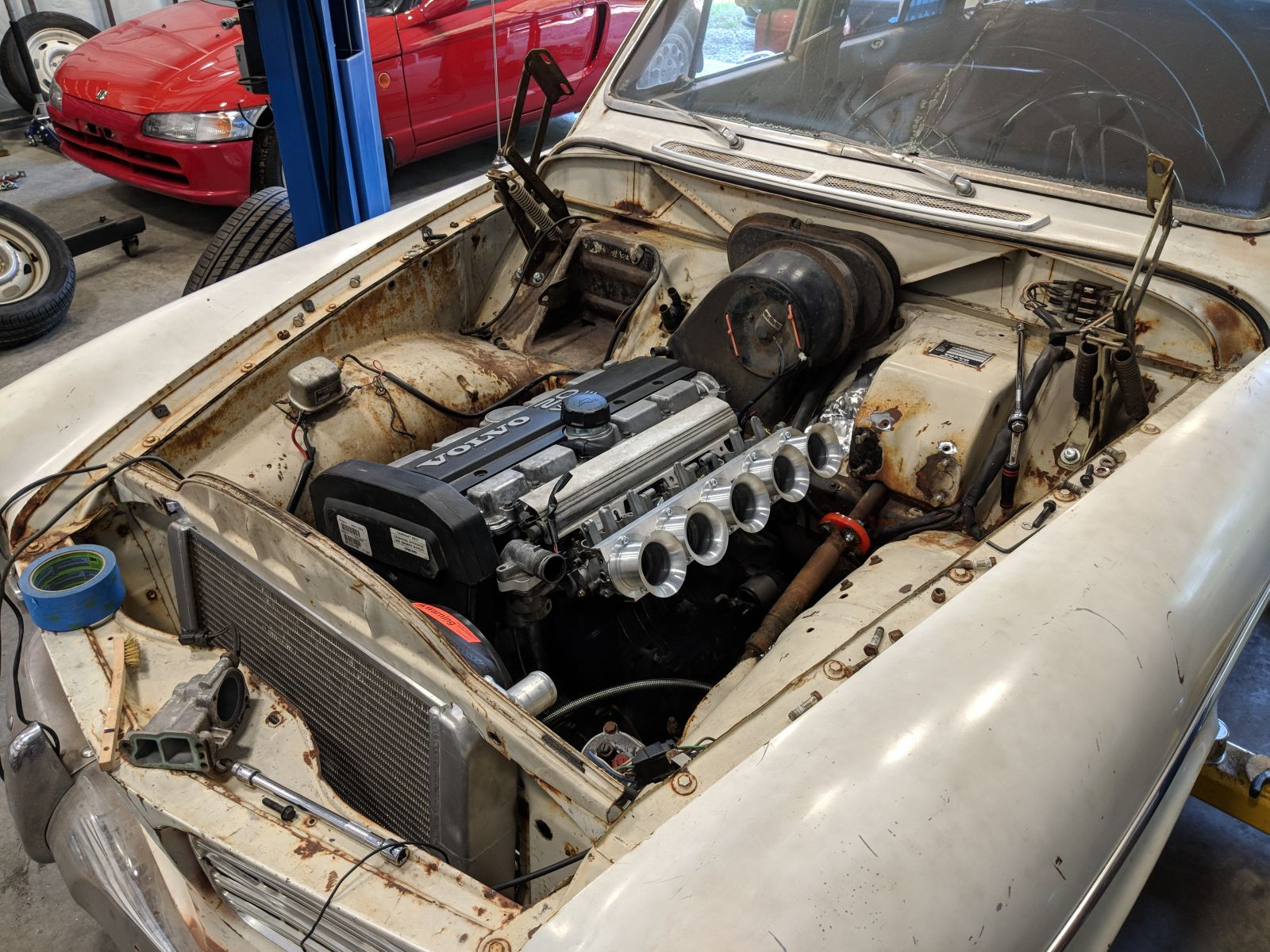 The Best Thing to Do With Your Freshly Engine Swapped 1966