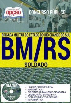 Apostila Preparatoria Brigada Militar Rs Soldado Com Imagens