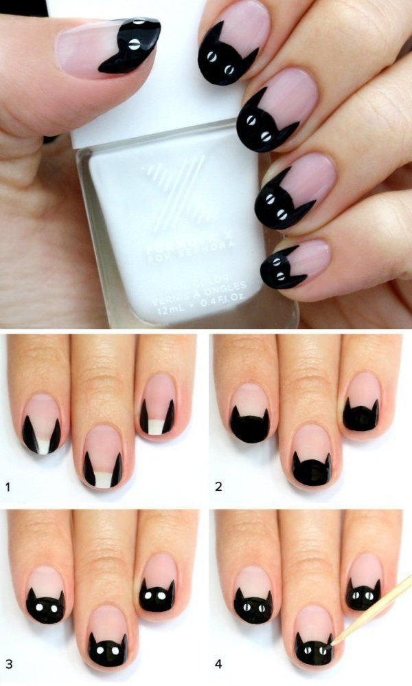 Best Easy Halloween Nail Art Diy Image Collection