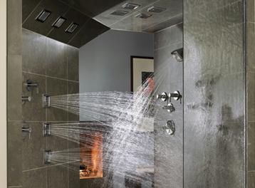 A Shower In Which You Re Hit With Water From All Sides Definitely