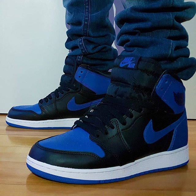 Go check out my Air Jordan 1 Royal on feet link channel in bio ... 6e4590710