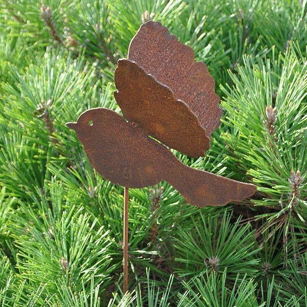 Un objet en fer ou métal rouillé peut être la décoration parfaite ...