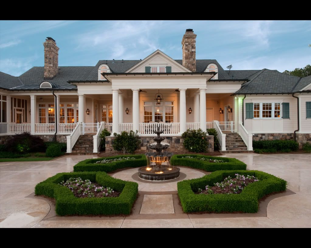 Stephen Fuller Designs Classic Southern Gallery House Exterior House Southern Homes