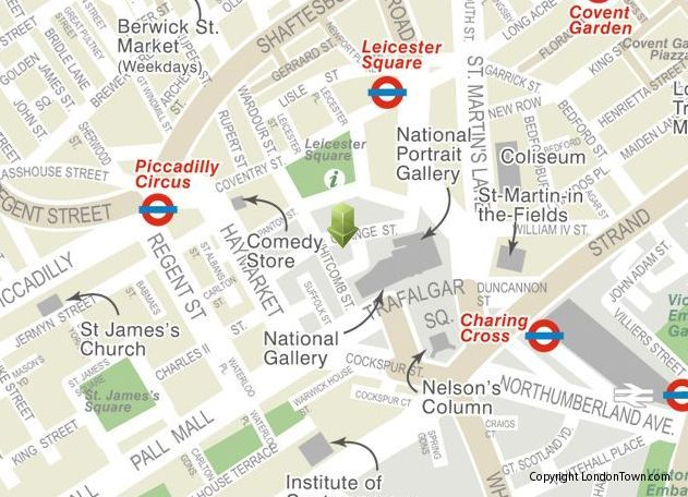 National Gallery London Map.Map Of National Gallery National Gallery London Pinterest