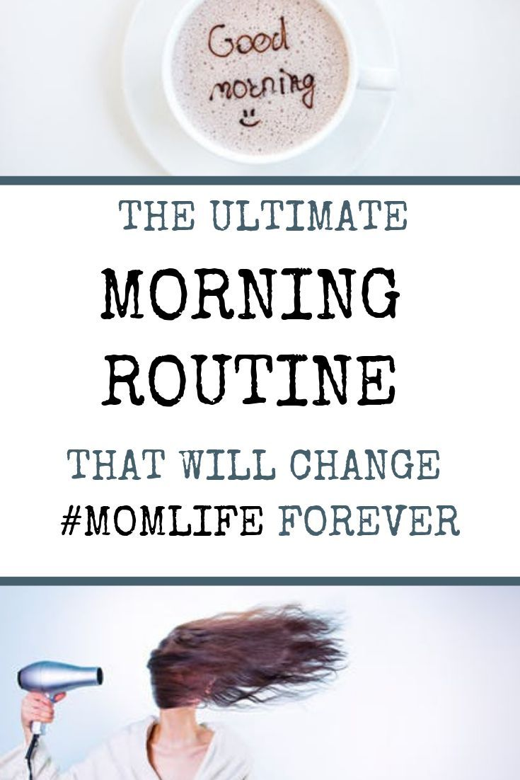 How To Ditch the Morning Chaos #morningroutine