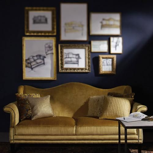 Living Rooms Bernhardt Gold Sofa Living Room Decor Dark Brown Couch Living Room Decor