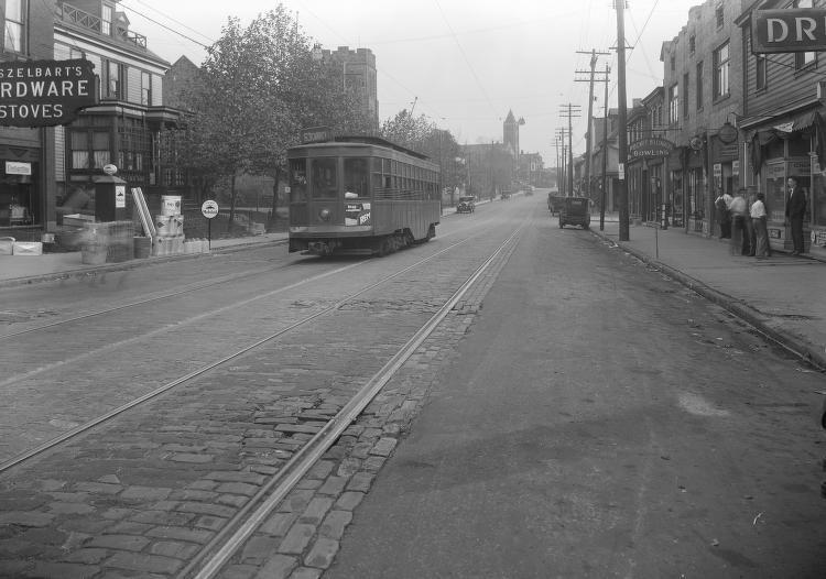 Carrick trolley 1818 brownsville 1927jpg hometown