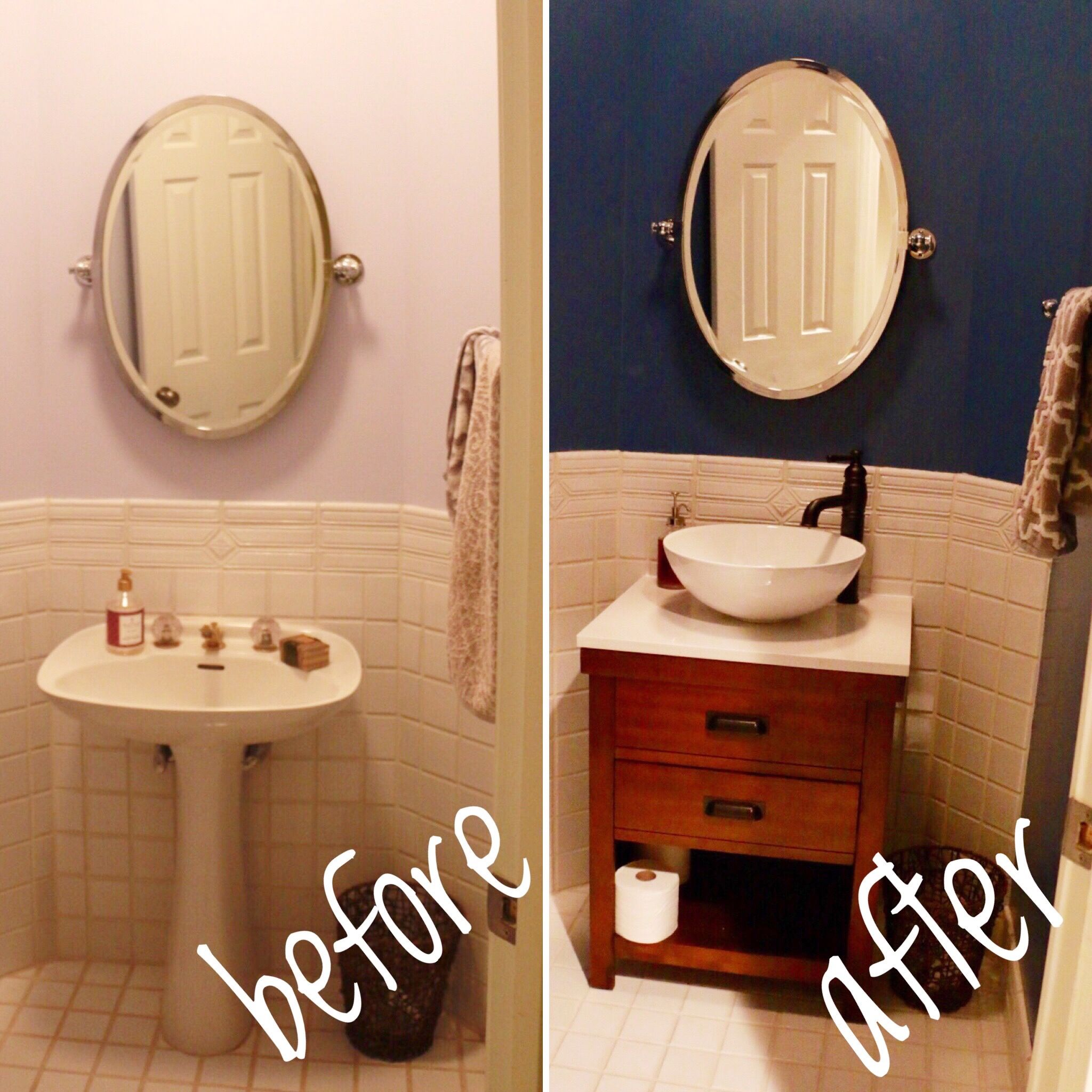 Renovation Projects With Images Small Bathroom Diy Small Half