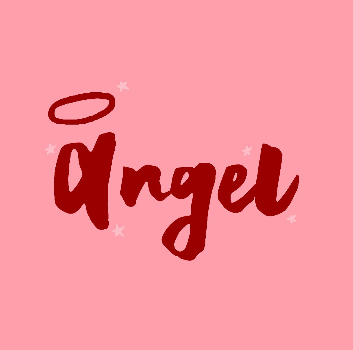 Angel Quote Word Typography Stars Bratz Aesthetic Vsco