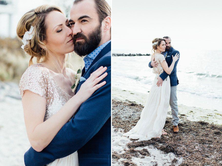 Styleshoot Auf Fehmarn Hochzeit Hamburg Strandhochzeit Heiraten Am Strand