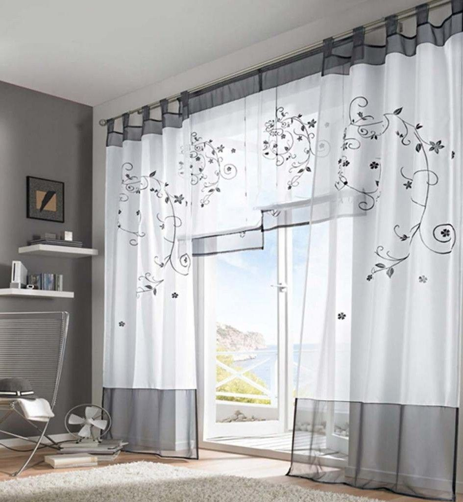 gardinen trends. Black Bedroom Furniture Sets. Home Design Ideas