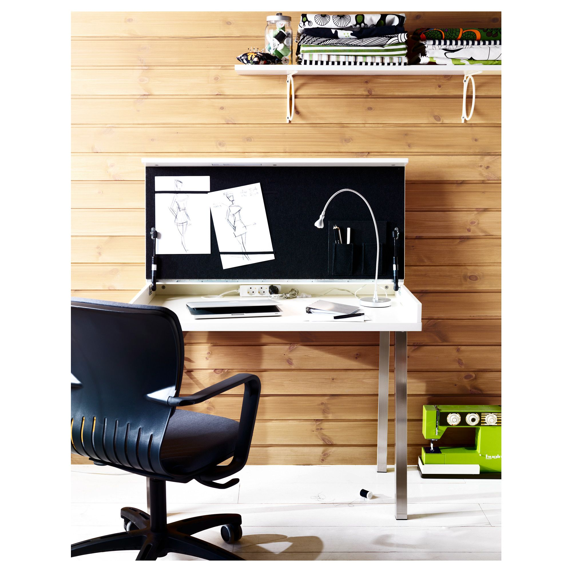 Vika Veine Desk By Ikea Nicely Combining Worke And Table A Cluttered Is Easily Hidden From Sight Your Thoughts