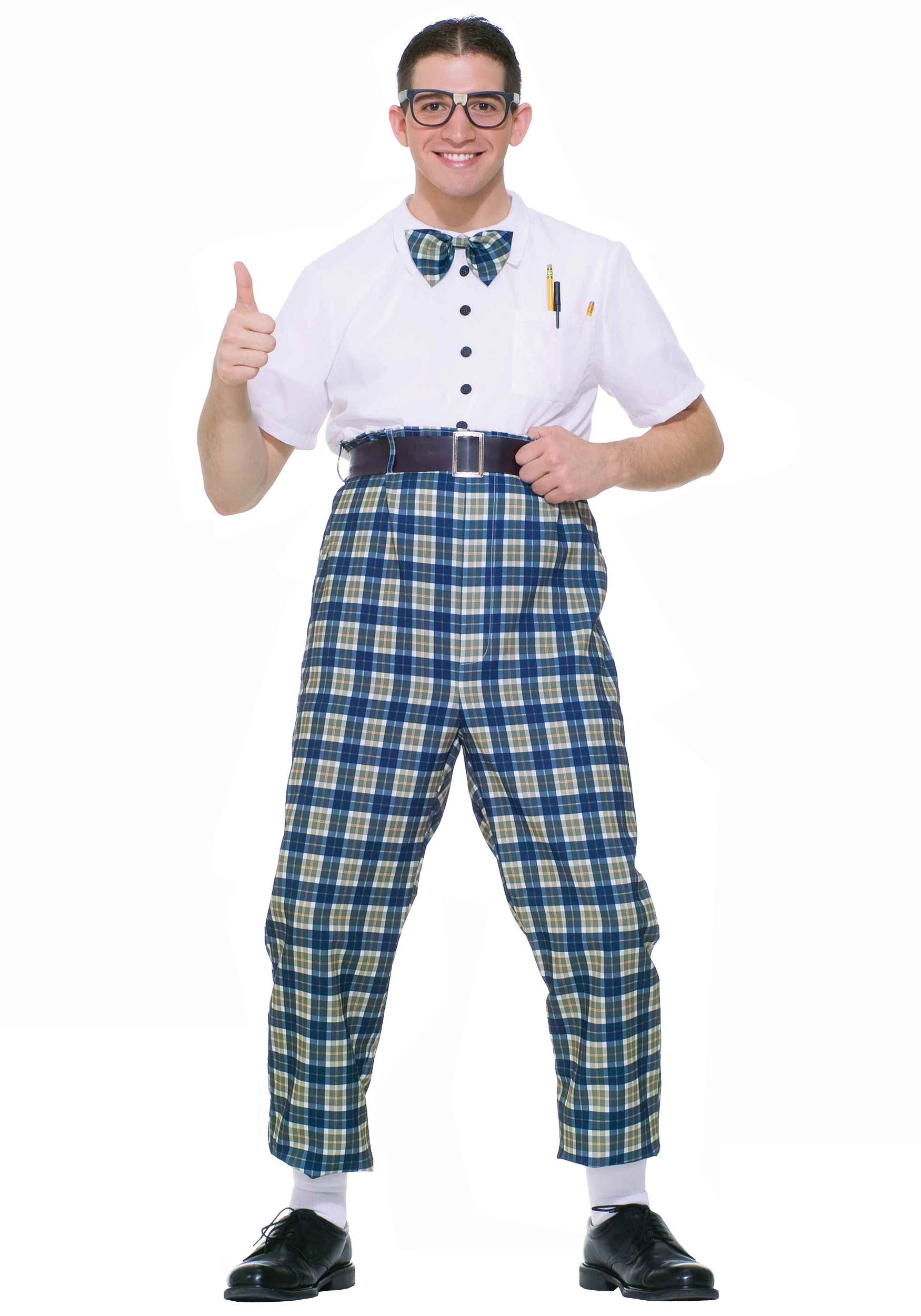 303984401d 50s Class Nerd Costume-  38.99- maybe something like this for Harvey  Johnson