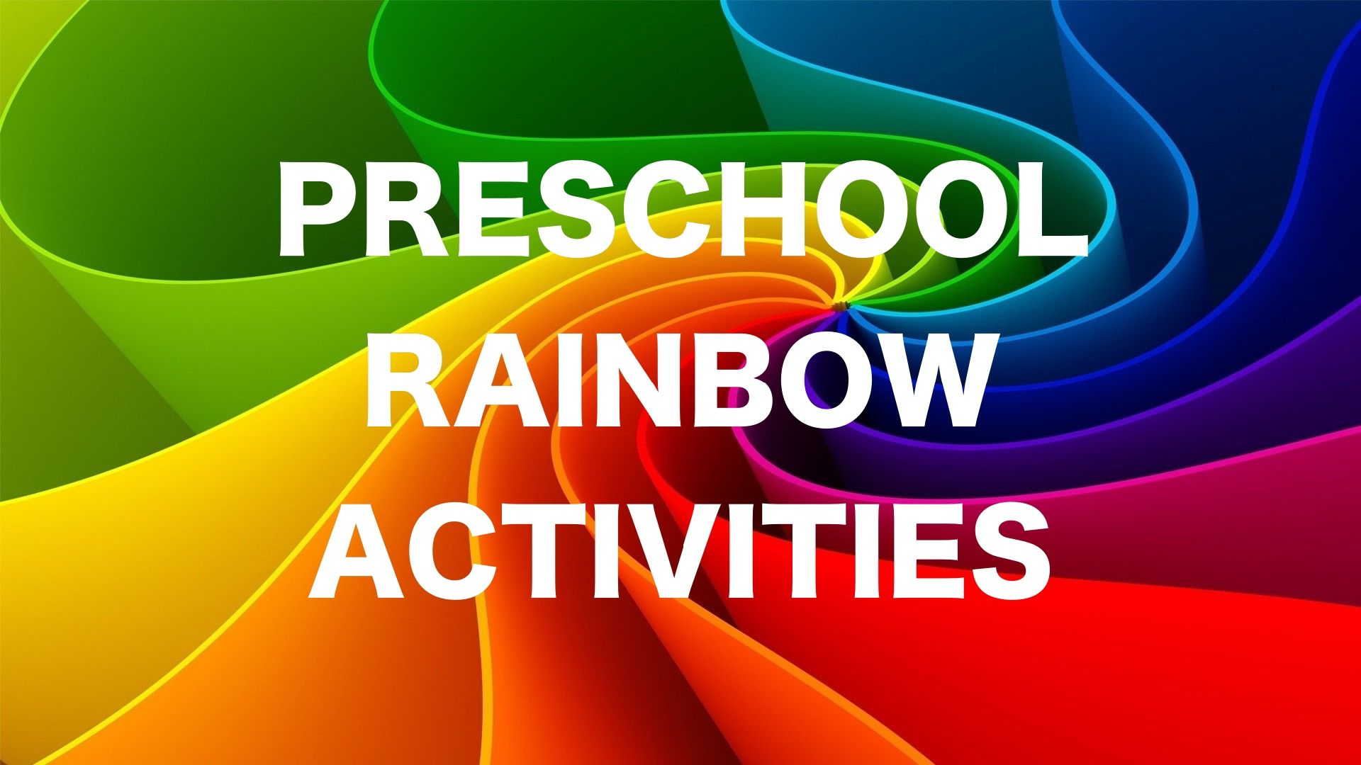 Different Ways To Use Rainbow Inspired Activities To Teach