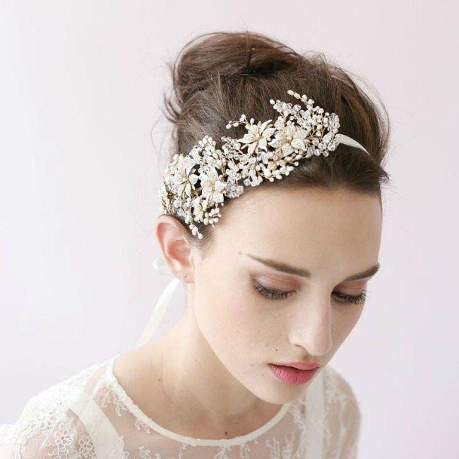 šperky do vlasů svatební čelenka  2360b3305c