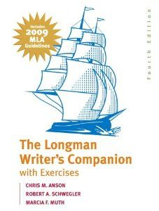 The longman writers companion with exercises mla update edition the longman writers companion with exercises mla update edition 4th edition chris fandeluxe Choice Image