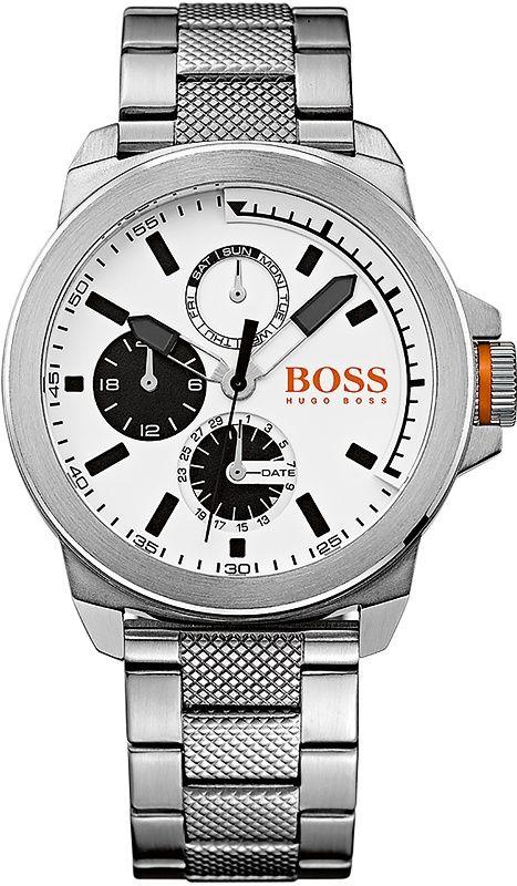 Hugo Boss NEW YORK Multi silberfarben 1513167 Herrenuhr