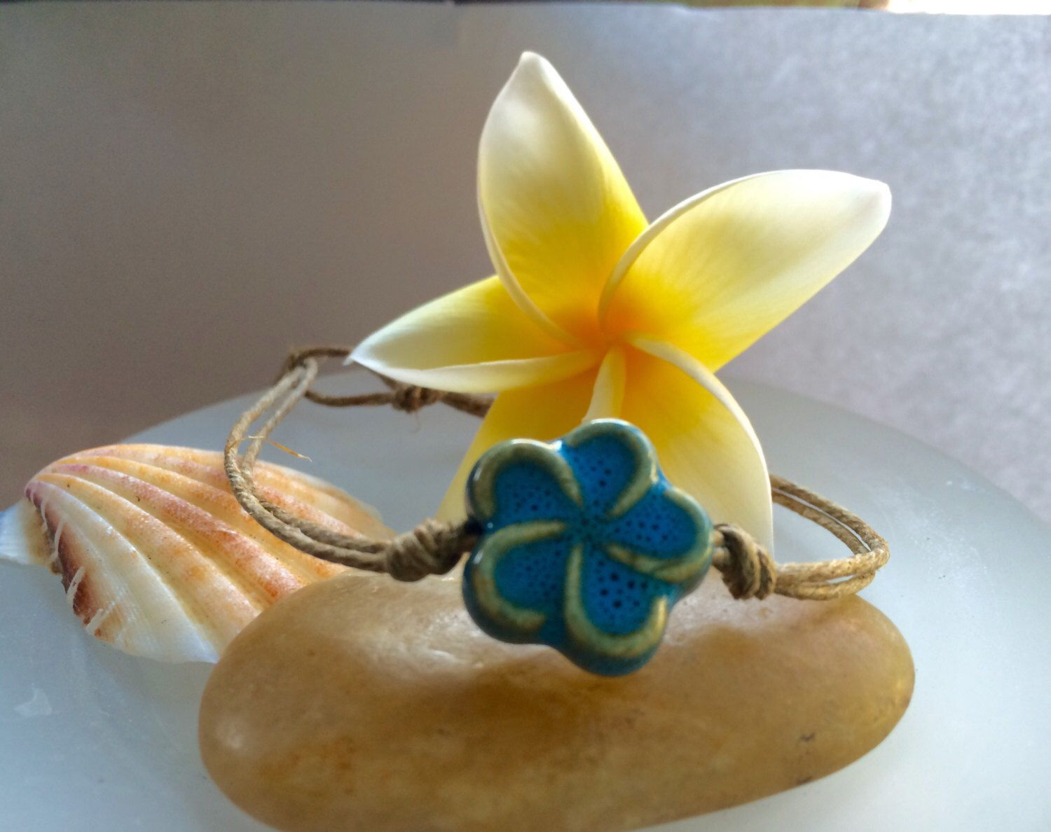 rose hawaiian pin plumeria honu sea anklet plated cz turtle tricolor gold yellow silver sterling flower