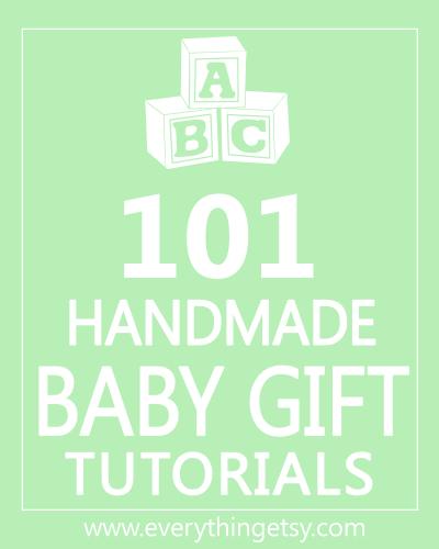 101 handmade baby gifts