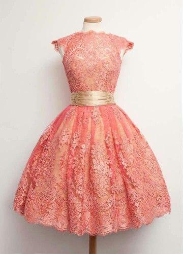 Beautiful vintage lace dress
