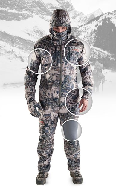 40b643adef40a Sitka Big Game Clothing System | Hunter's Lodge | Sitka gear ...