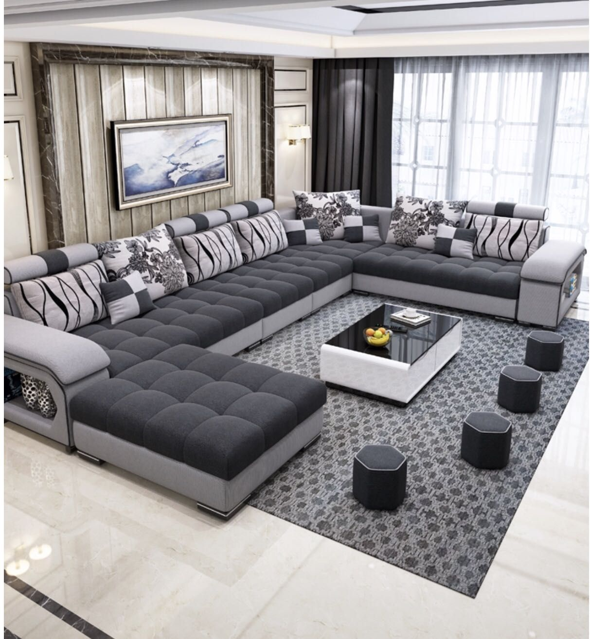 Furniture Factory Provided Living Room Sofas/fabric Sofa Bed Royal