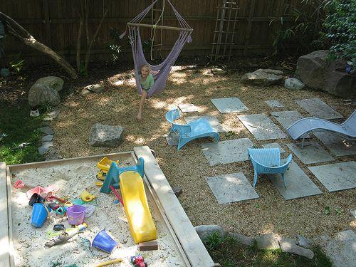 Backyard Landscaping Ideas For Kids Dengan Gambar