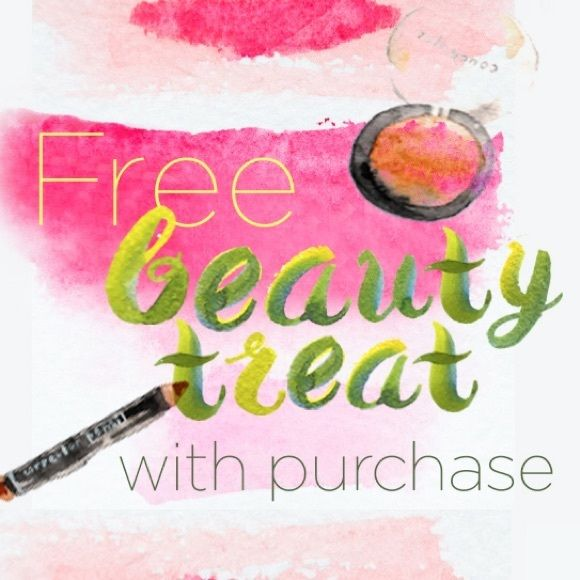 Free beauty treat Free NEW mystery beauty treat with any purchase! I do not sell nor give away used makeup for sanitary concerns! ❤️ Other