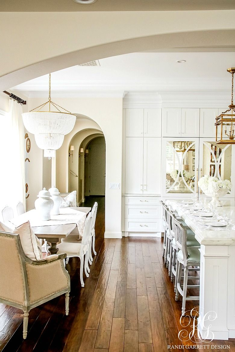 white kitchen love. soothing summer home tour 2017 - neutral