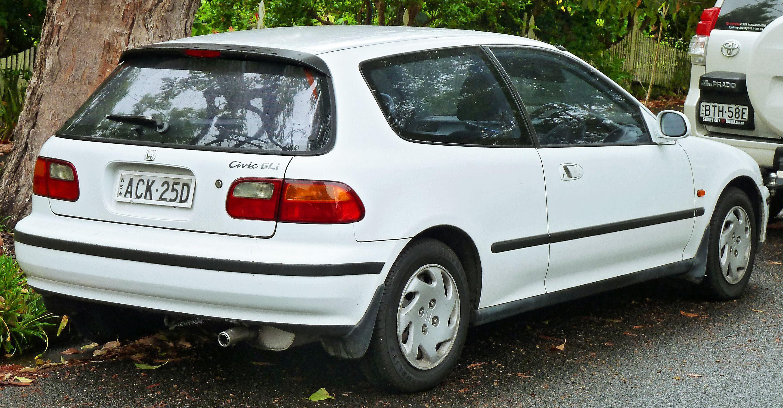 1993 1995 Honda Civic Fifth Generation Wikipedia Honda Civic Honda Honda Civic 1995