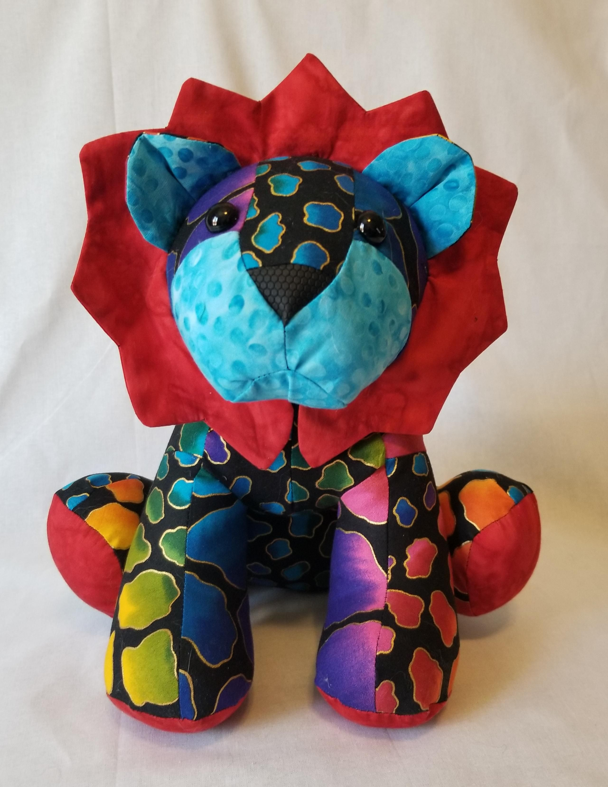 Made from a funky friends factory pattern sewing crafts