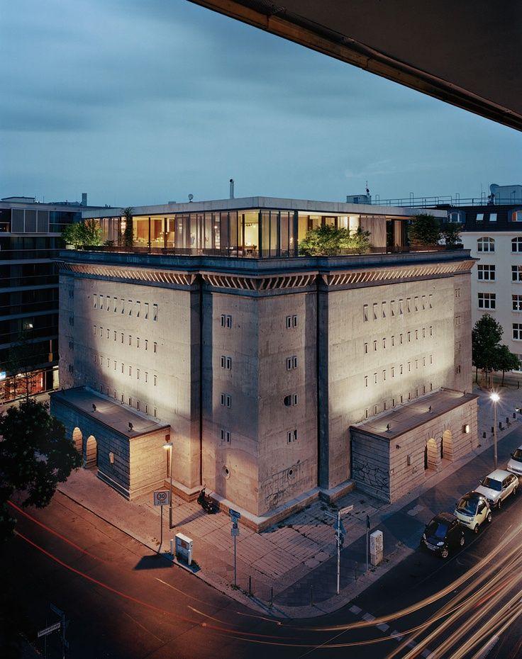 Pinterest   Architektur, Barcelona pavillon, Bunker