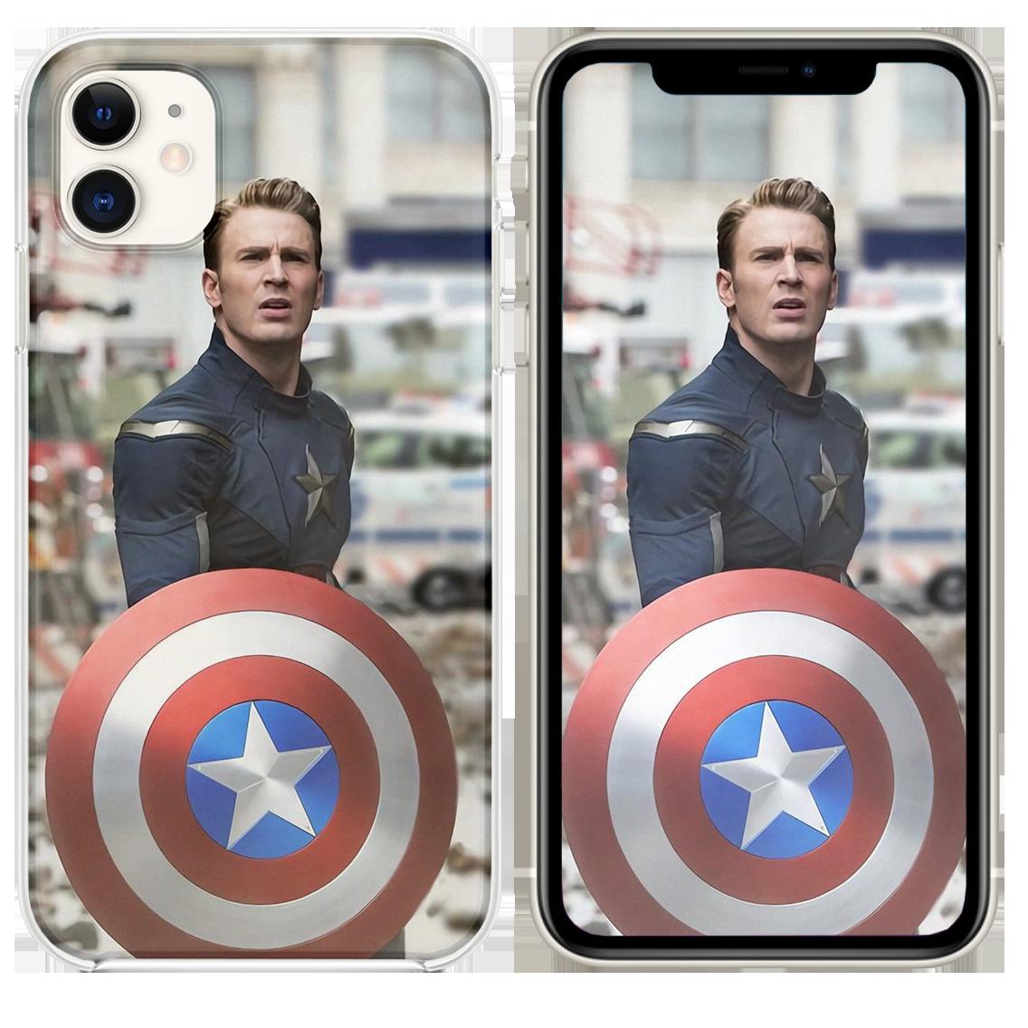 Captain America Tony Stark Antman In Avengers Endg Iphone 11 Case