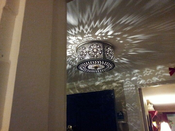 punched tin tin can lights tin ceiling