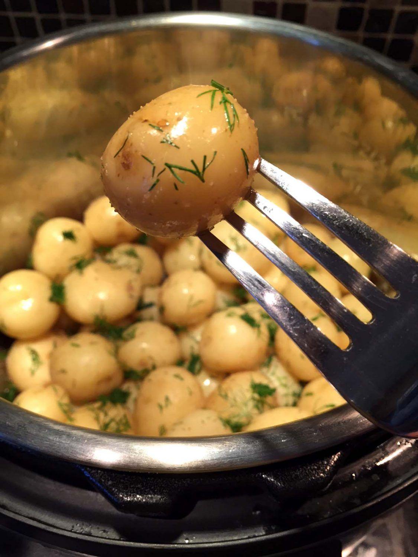 Instant Pot Small Potatoes Recipe Instant Pot Recipes Small Potatoes Recipe Baby Potato Recipes
