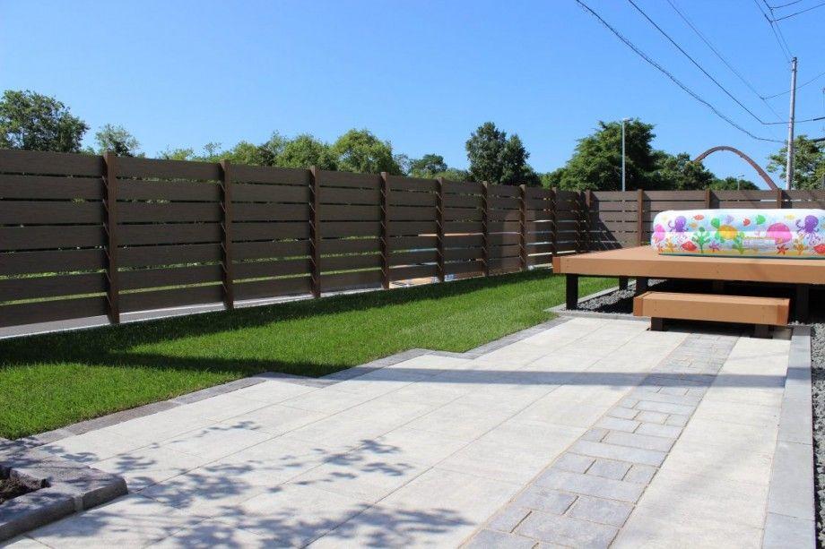 Bbqも出来るアプローチ空間 エクステリア 造園 庭の入り口