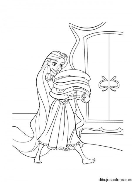 Dibujos Para Colorear De Rapunzel Princesas Dibujos Dibujos