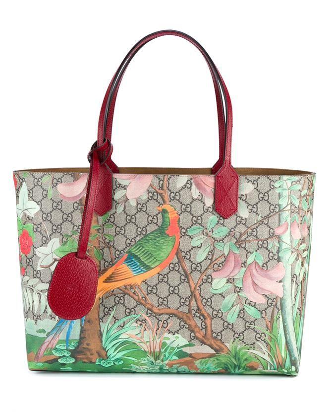 32147b69acca GUCCI Tian Garden Tote Bag | ᴮᴬᴳˢ/ᶜᴸᵁᵀᶜᴴ/ᴴᴬᴺᴰᴮᴬᴳˢ in ...
