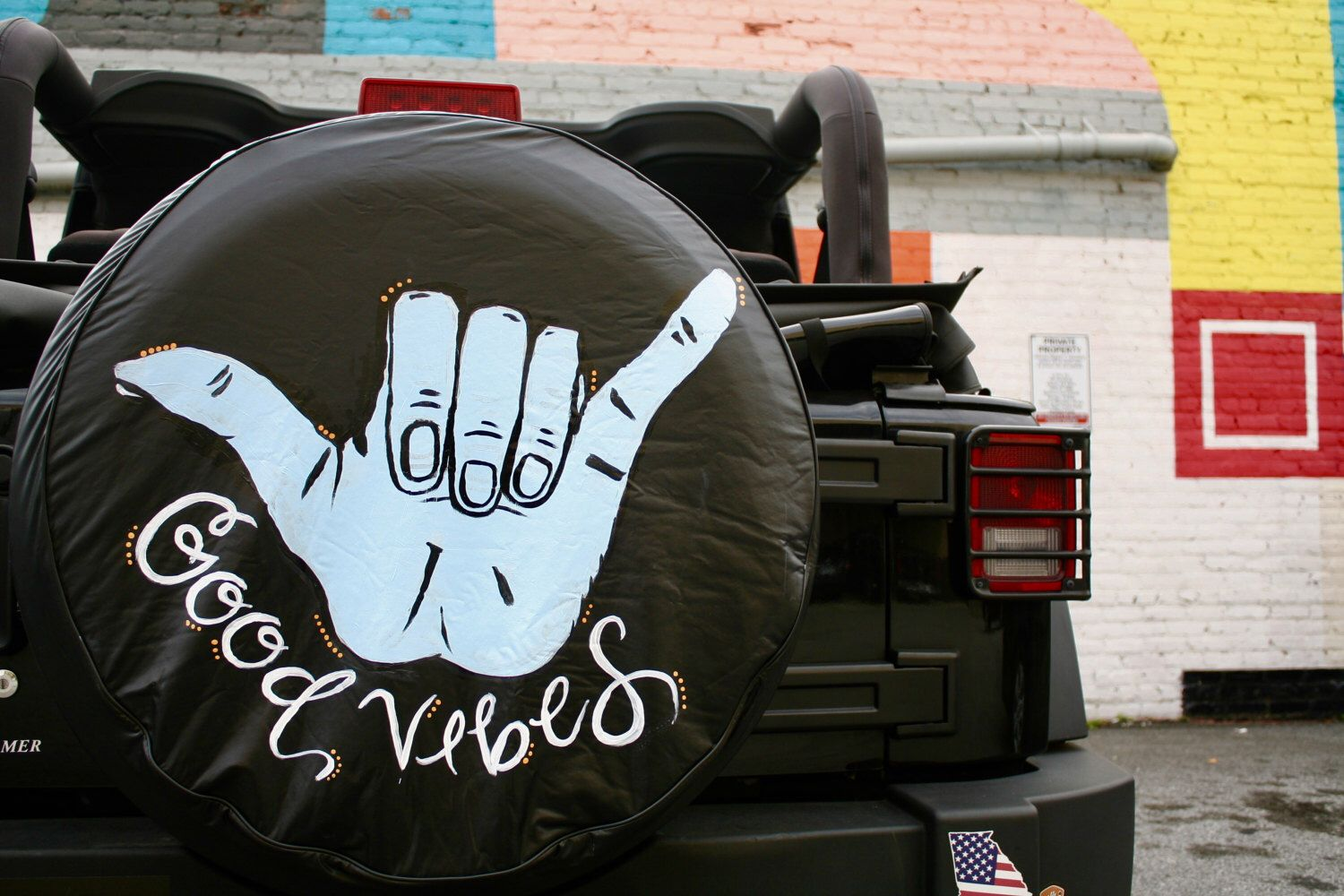 Jeep Tire Cover By Alexandrasartstudio On Etsy Https Www Etsy