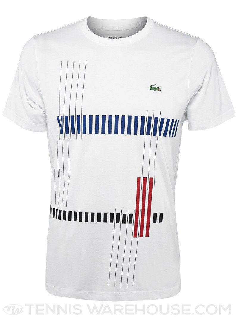 3c0b6b584c2db Lacoste Men s Fall Lines T-Shirt. Camisas Para Meninos ...