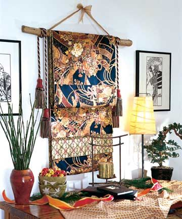 obi wall hanging pinterest restaurante japon s dise o japon s y japon. Black Bedroom Furniture Sets. Home Design Ideas